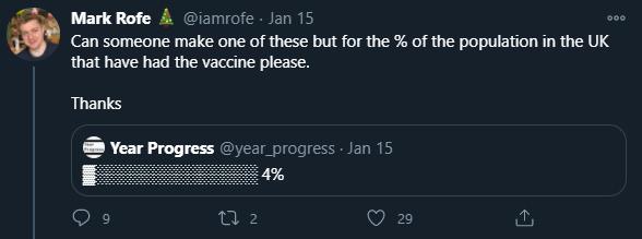 Mark Loaf vaccine tweet